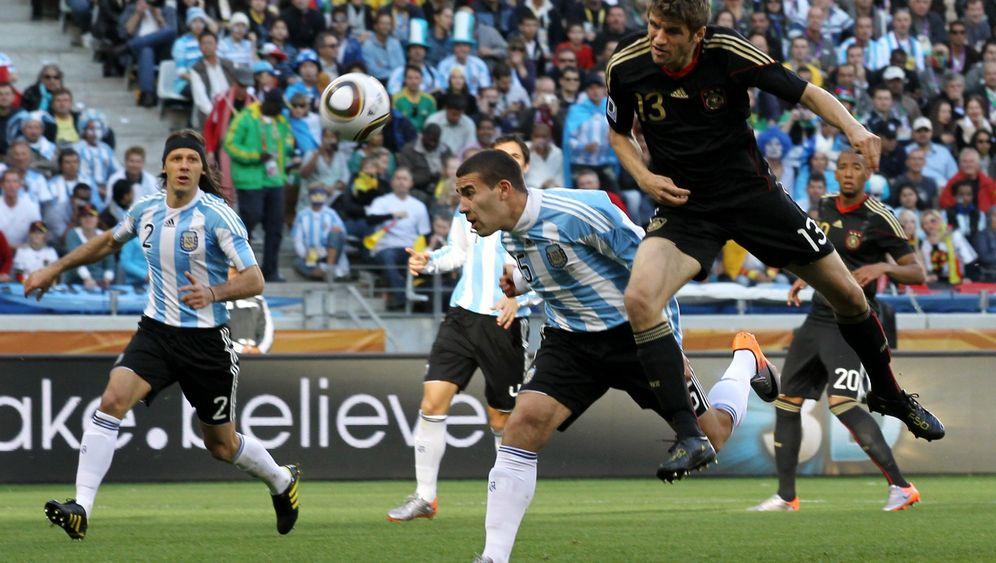 WM-Turnier 2010: Ein Tor und eine bittere Gelbe