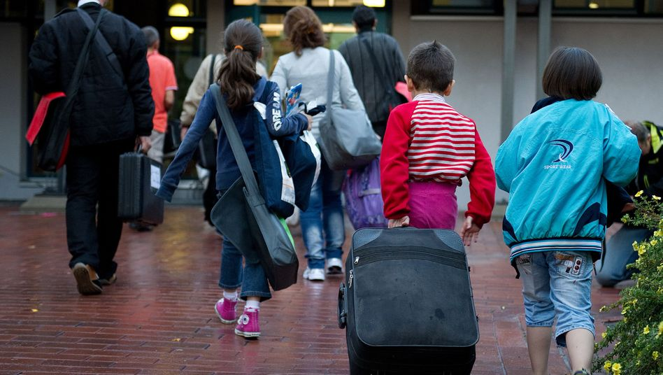 Flüchtlinge aus Syrien: Ankunft in Deutschland