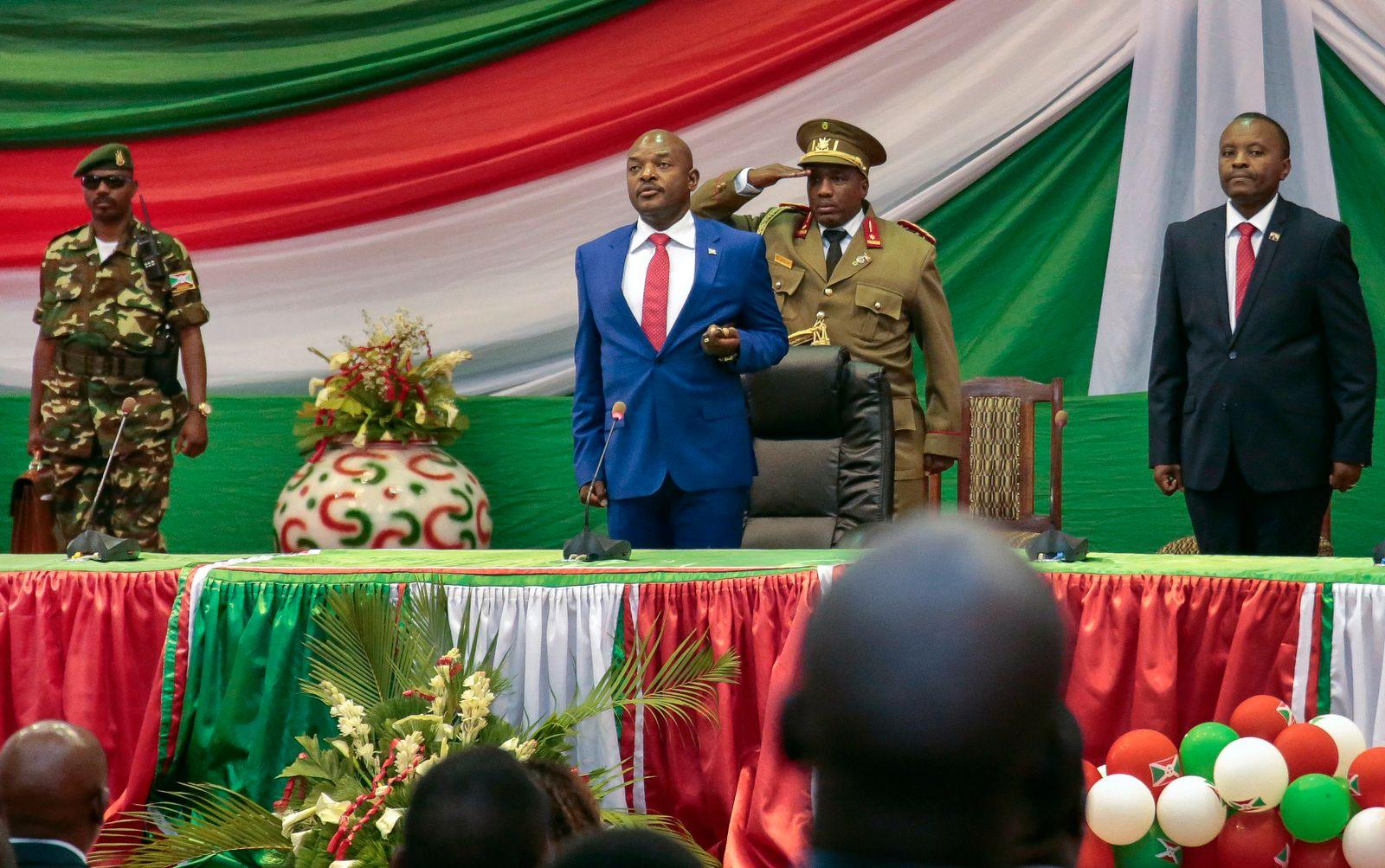Burundis scheidender Präsident Pierre Nkurunziza stirbt