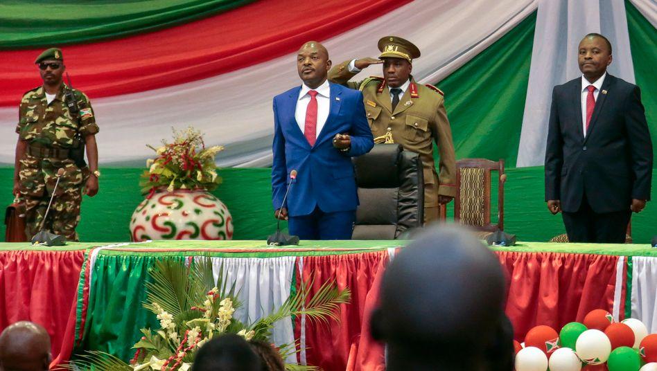 Pierre Nkurunziza, Präsident von Burundi (Archivbild von 2015)