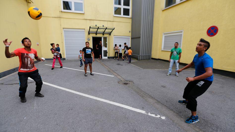 Serbische Flüchtlinge in Essen: Deutschland nimmt die meisten Menschen auf