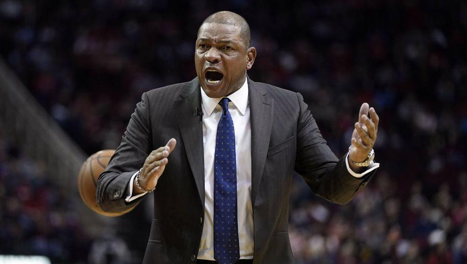 Clippers-Coach Doc Rivers sieht die Schuld bei den Schiedsrichtern