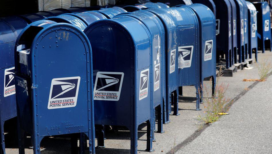 Ausrangierte Briefkästen (in New York City): Die US-Post ist chronisch unterfinanziert