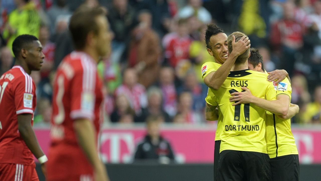 Fußball Dortmund Bayern