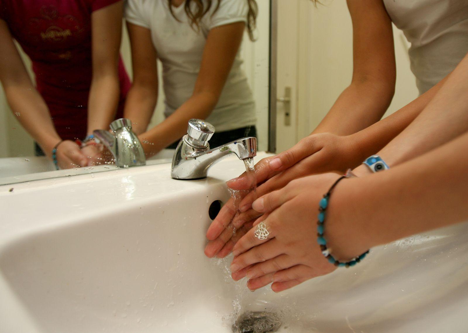 Symbolbild / Hände waschen