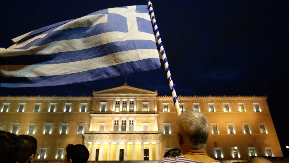 Parlament in Athen: Viele Griechen sind ohne Hoffnung