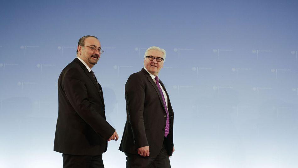 """Außenminister Steinmeier: """"Art des Umgangs kann politischen Preis haben"""""""