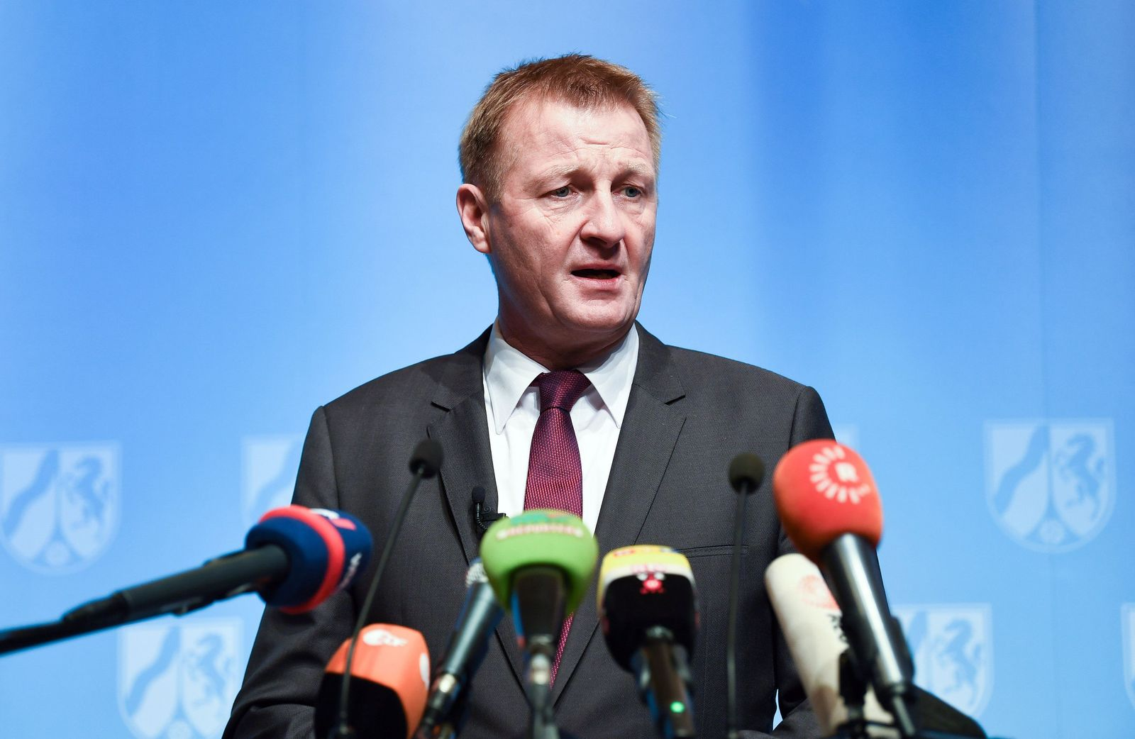Pk NRW-Innenminister Ralf Jäger