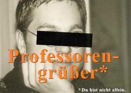 Toleranz an der Uni - Entwurf von Ansgar Eilting (FH Münster).