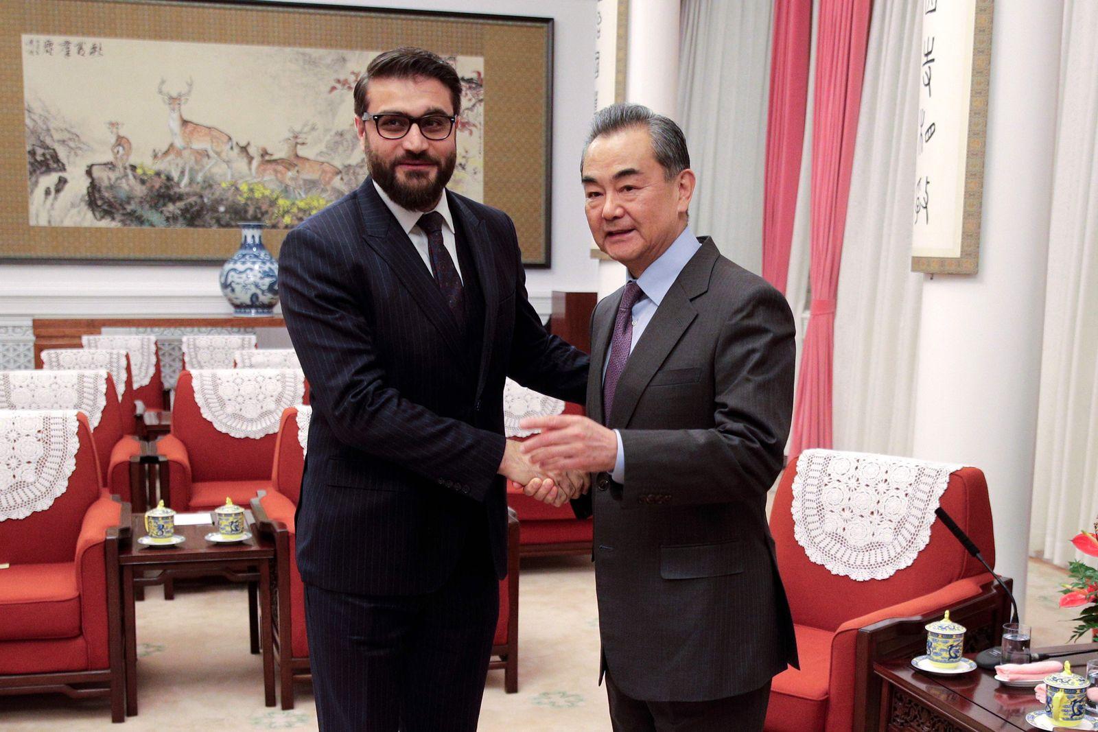 China/ Afghanistan/ Mohib/ Wang Yi
