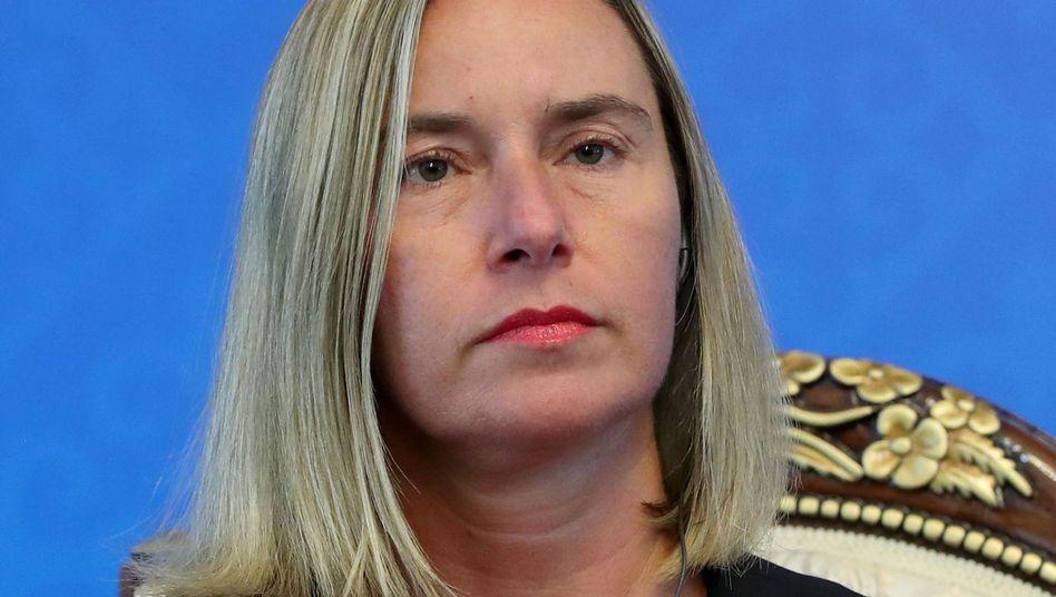 Federica Mogherini fordert gemeinsam mit EU-Staaten Vertragstreue von Iran