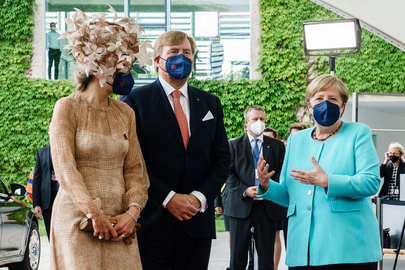 Dutch royal couple visits Berlin