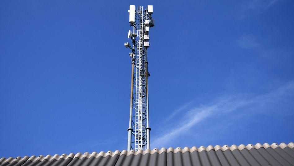 Sendemast: Mit 5G beginnt gerade das nächste Mobilfunkzeitalter