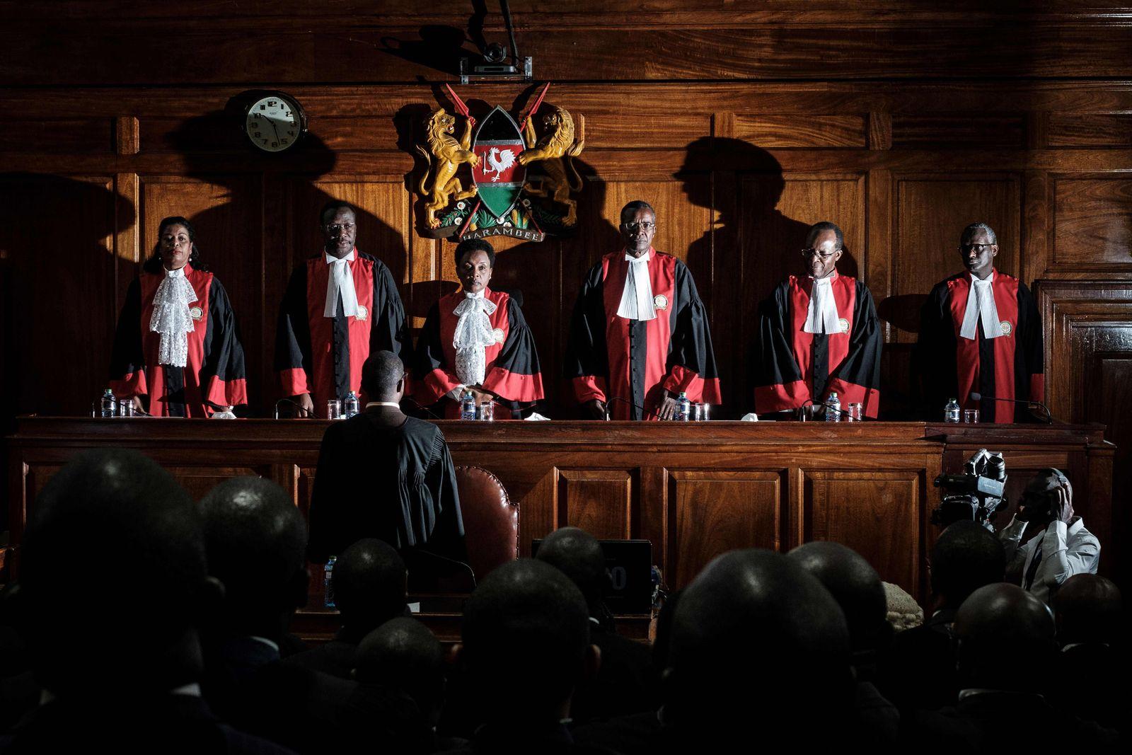 Verfassungsgericht Maraga Nairobi Kenia