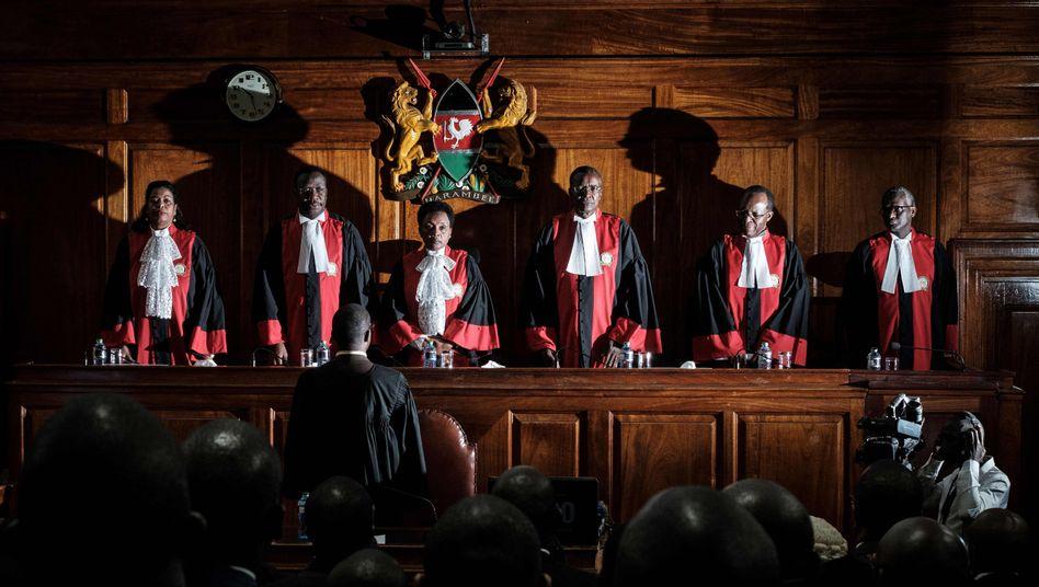 Verfassungsgericht in Kenia