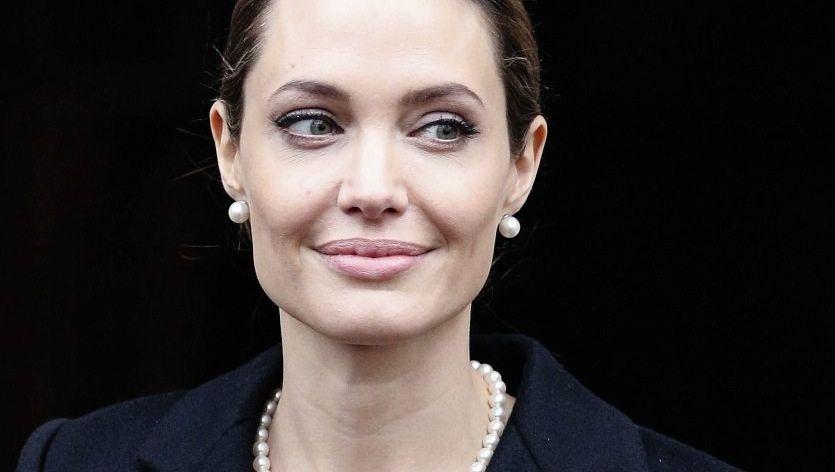 Angelina Jolie im April in London
