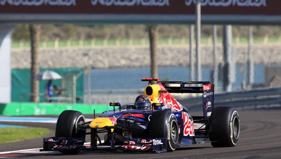 Formel-1-Fahrer Vettel: Pole-Position in Abu Dhabi gesichert