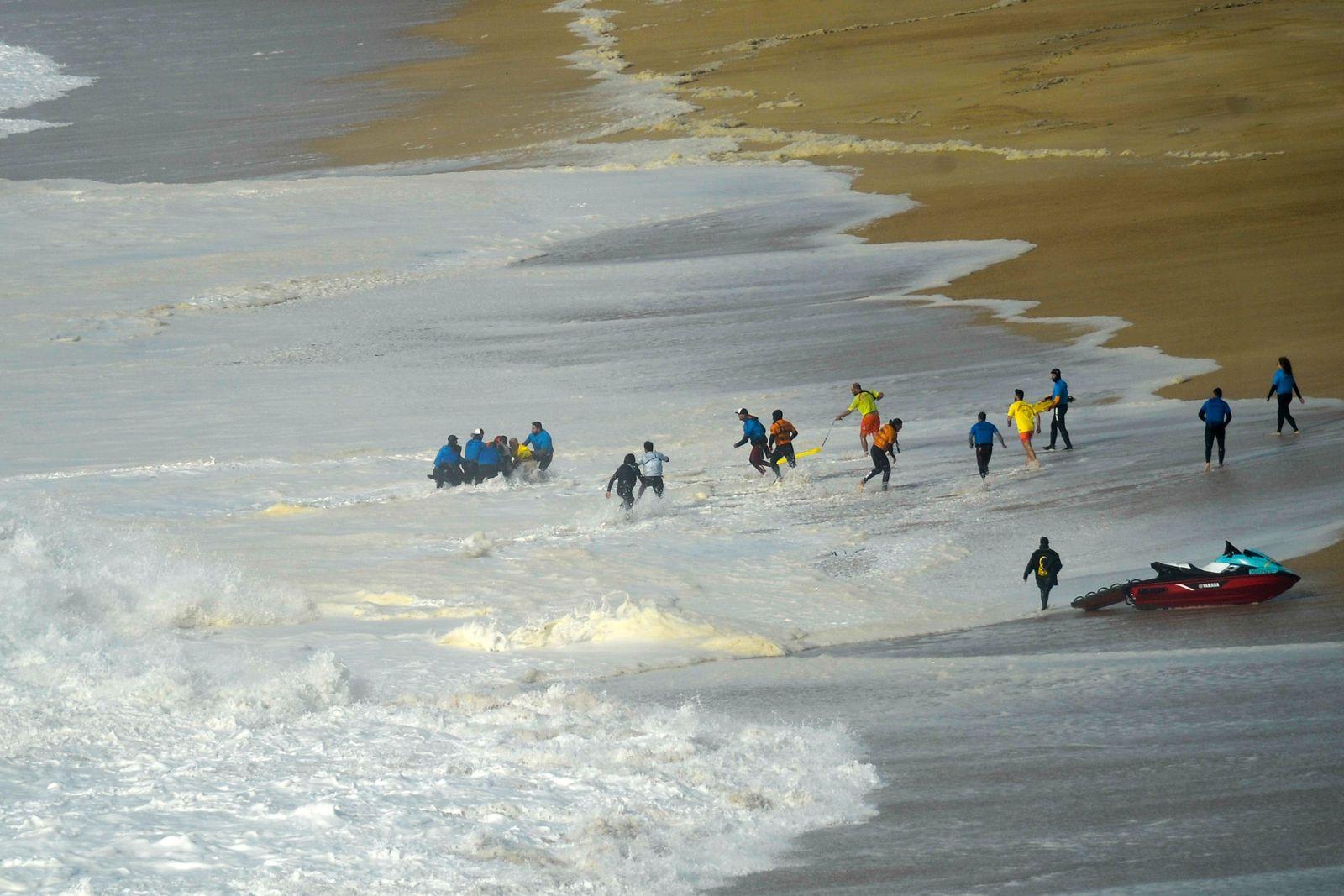 World Surf League: Nazare Tour Surfing Challenge, Portugal - 11 Feb 2020
