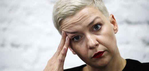 Marija Kolesnikowa: Belarussische Oppositionsführerin verschleppt