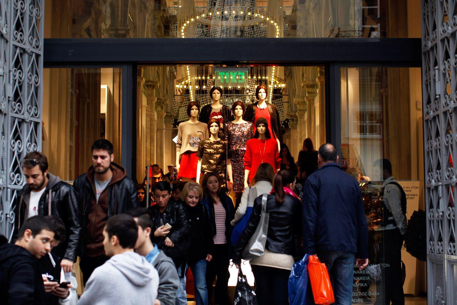 Griechenland / Finanzkrise / Konjunktur / Konsum / Shopping
