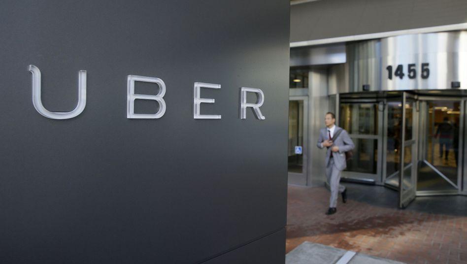 Uber-Zentrale in San Francisco: Vielleicht nicht die netteste Lösung