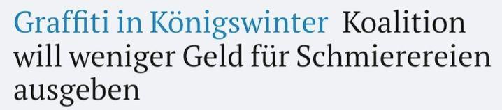 Von der Website des »Kölner Stadt-Anzeigers«