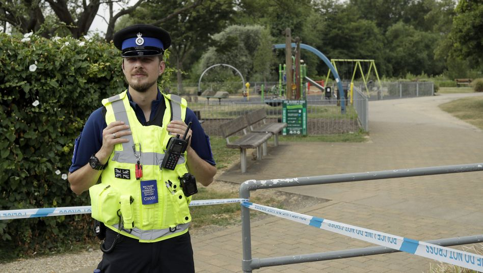 Polizist in Salisbury