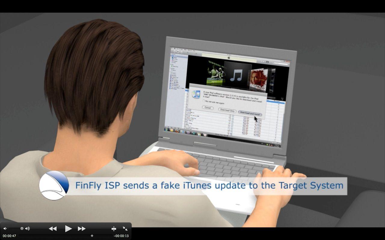 NUR ALS ZITAT Screenshot / Gamma / Finfisher