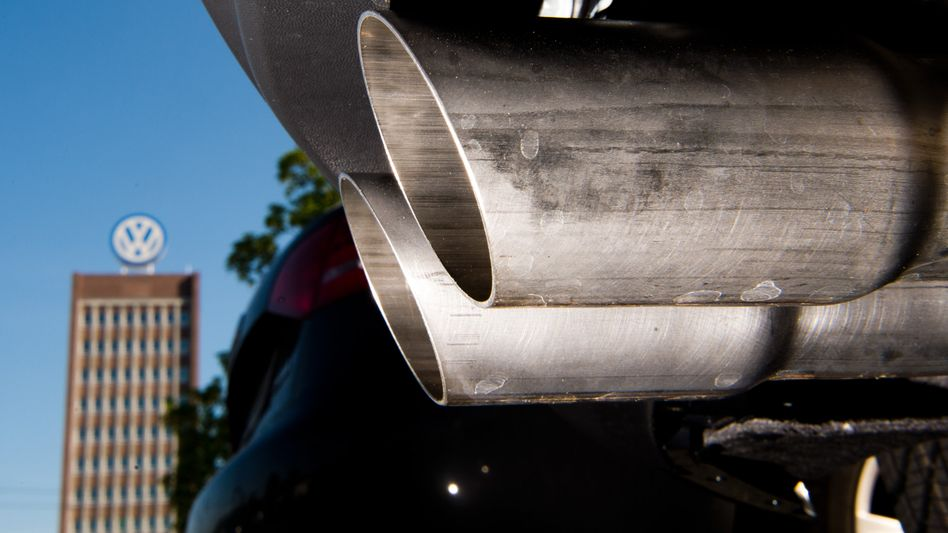 Symbolbild im Dieselabgasskandal