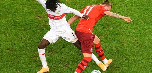 Fußball-Bundesliga: 1. FC Köln kassiert beim VfB Stuttgart Rückstand nach 23 Sekunden