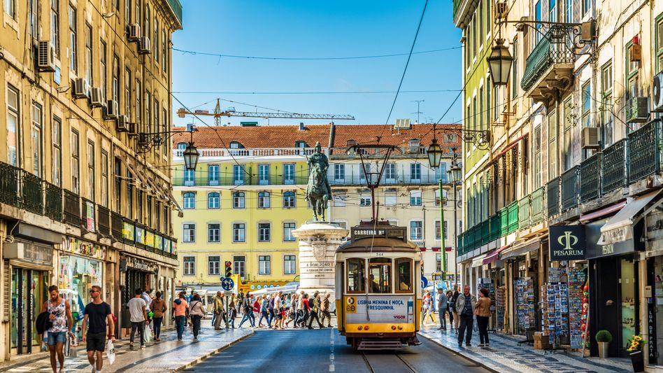 Portugals Hauptstadt Lissabon ist besonders von der Delta-Variante betroffen