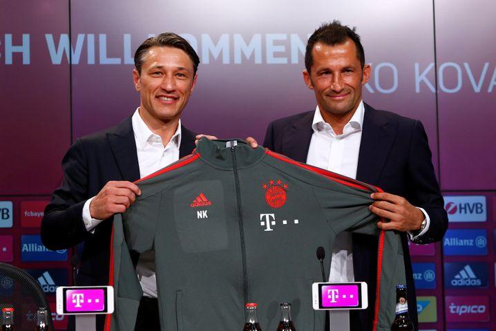 Niko Kovac (links), Hasan Salihamidzic