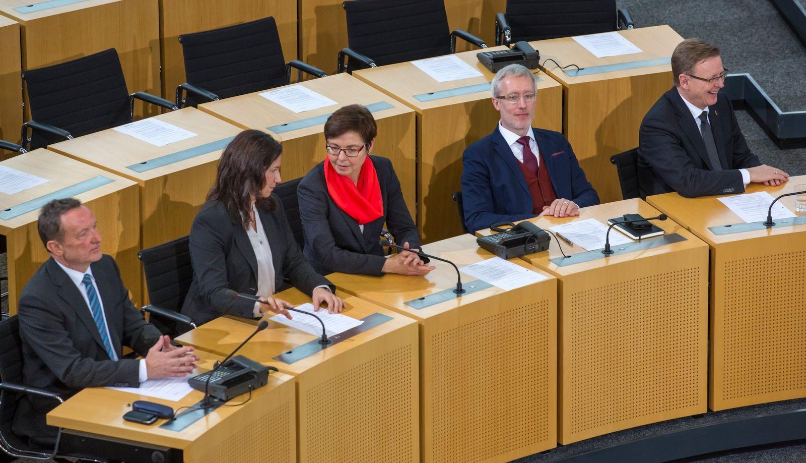 Rot-Rot-Grün in Thüringen 100 Tage an der Macht