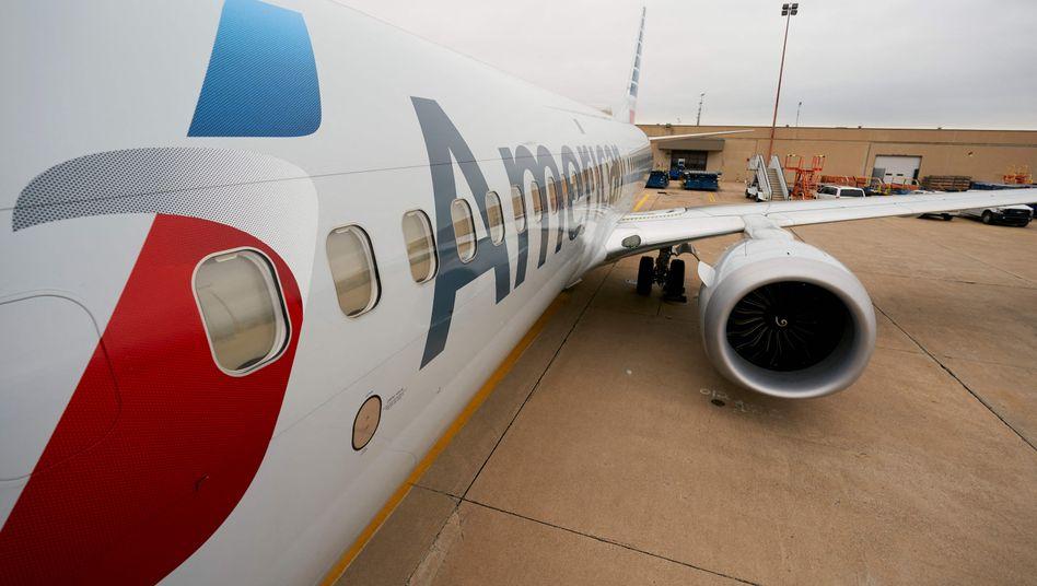 Flugzeug von American Airlines (Archivbild)