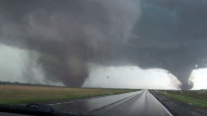 Tornados in Nebraska: Wirbelstürme verwüsten Siedlung