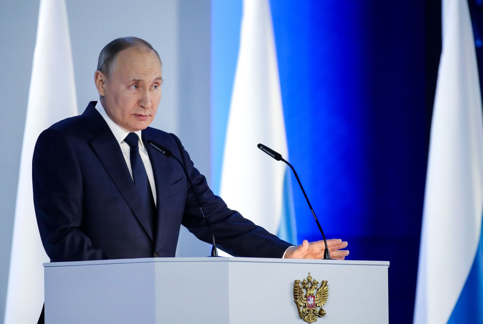 Russia: President Putin delivers annual address to Federal Assembly of Russia