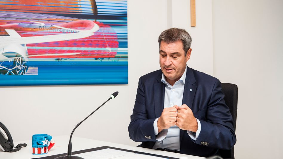 Vorsitzender Söder in der Münchner CSU-Parteizentrale: »Heute muss die Union sexy und solide sein«