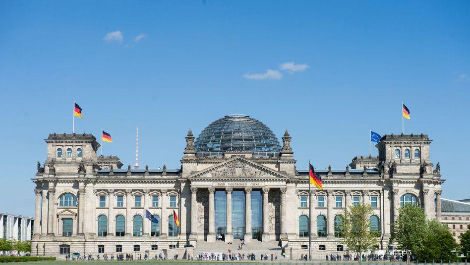 """Reichstagsgebäude in Berlin: """"Das ist kein normaler Zustand"""""""
