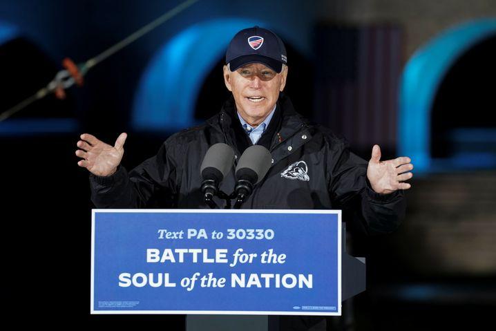 Kampf um die Seele der Nation: Biden am Sonntag in Pennsylvania