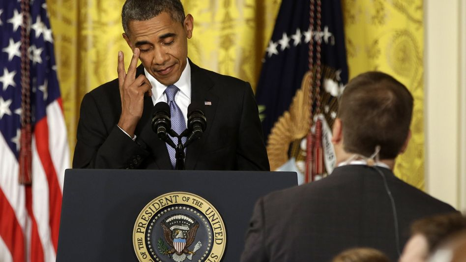 US-Präsident Barack Obama (Archivbild): Keine Gewalt! Demokratie! Neuwahlen!