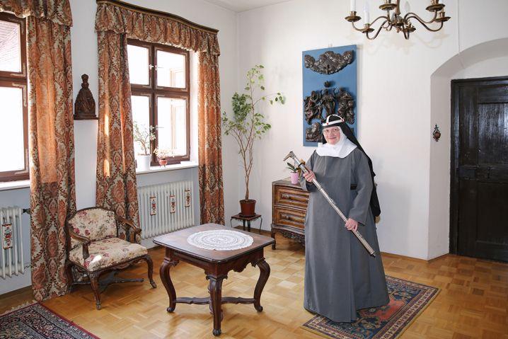 Schwester Apollonia war die Priorin des Birgittenordens