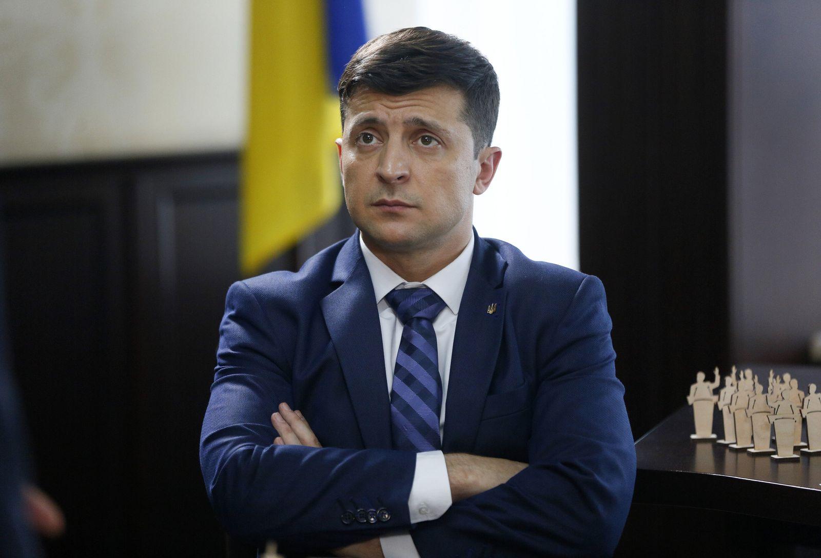 Ukraine/ Wahlen/ Selensky