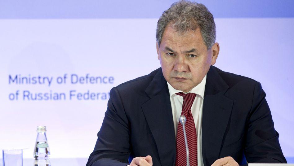 Russlands Verteidigungsminister Shoigu: 50 Minuten am Telefon