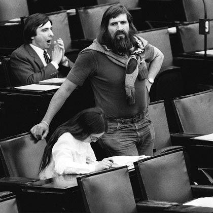 Grüne im Bundestag (1983): Die CDU wollte sie am liebsten verbieten