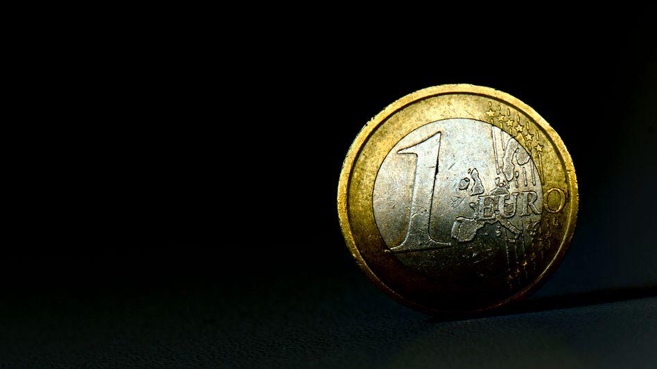 Euro-Münze: Die Deutschen sorgen sich um den Wert des Geldes