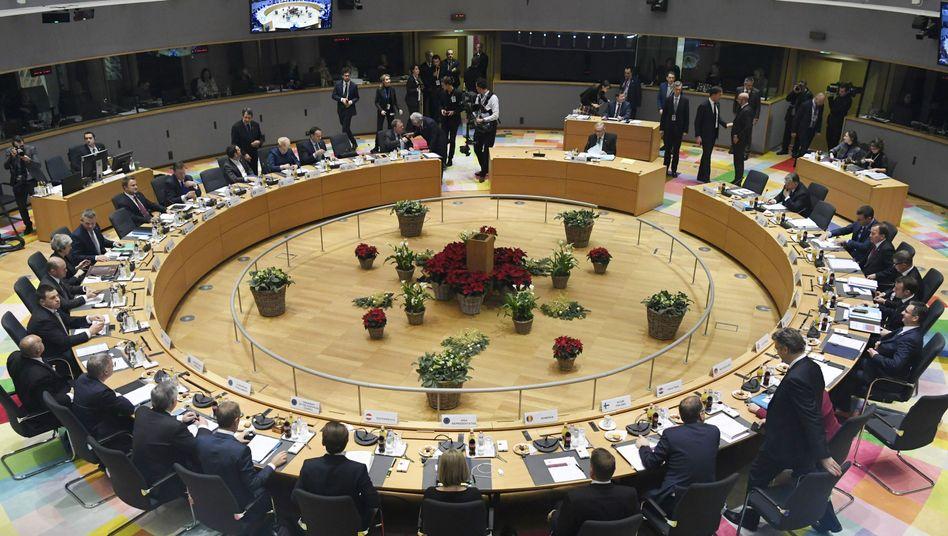 Staats- und Regierungschefs der EU (Archivbild von Dezember 2018)
