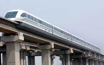 Transrapid in China: Ein chinesisches Modell schafft angeblich 540 Km/h