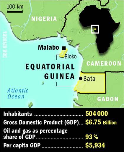 Map: Equitorial Guinea