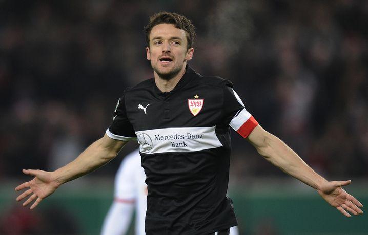 Mittelfeldspieler Gentner: In Stuttgart bis 2016 verlängert