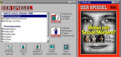 SPIEGEL ONLINE 1994 bei Compuserve: Ende für den Online-Oldie
